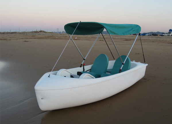 336脚踏船